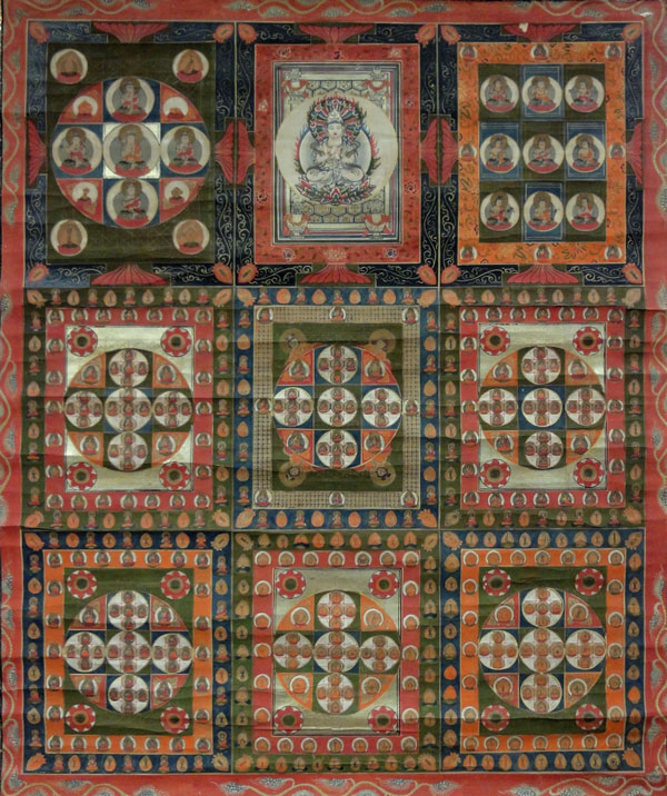 Mandala of the Two Realms the Edo priod 2