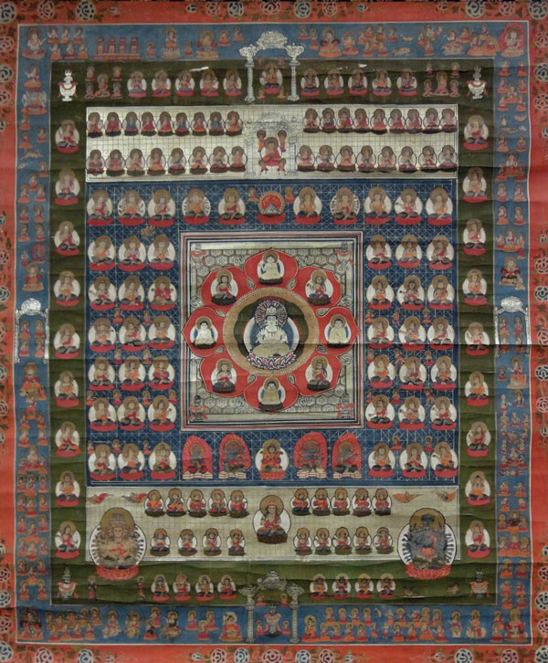 Mandala of the Two Realms the Edo priod 8
