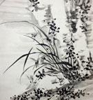 江馬細香 蘭竹図2